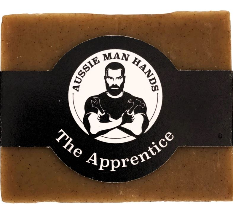 THE APPRENTICE | Exfoliating Natural Soap Bar by Aussie Man Hands available at My Harley and Rose