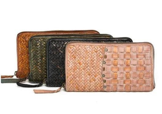 Oslo Pearl Wallet by Rugged Hide available at My Harley and Rose
