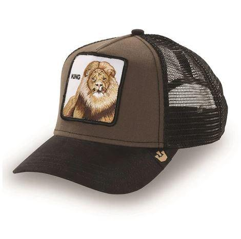 King Of The Jungle Trucker Cap available at My Harley and Rose