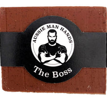 Load image into Gallery viewer, The BOSS | Exfoliating Natural Soap Bar 100gms by Aussie Man Hands available at My Harley and Rose