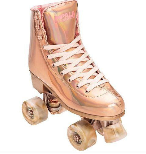 Impala Roller Skates Rose Gold available at My Harley and Rose