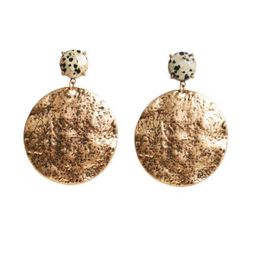 The Tranquil Stone Earring available at My Harley and Rose