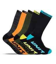 Load image into Gallery viewer, Unit Quantum Bamboo Socks 5 Pack available at My Harley and Rose