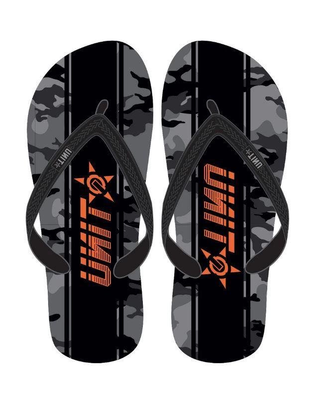 Unit Flip Flops Dusk Camo available at My Harley and Rose