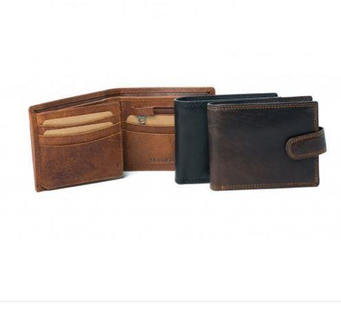 Luca Mens Wallet An addition to the Rugged Hide by Oran Leather available at My Harley and Rose