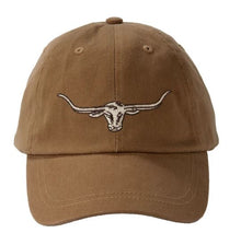 Load image into Gallery viewer, RM Williams Steer Head Logo Cap An R.M. Williams classic available at My Harley and Rose