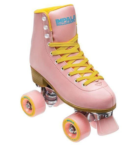 Impala Rollerskates Pink/Yellow available at My Harley and Rose