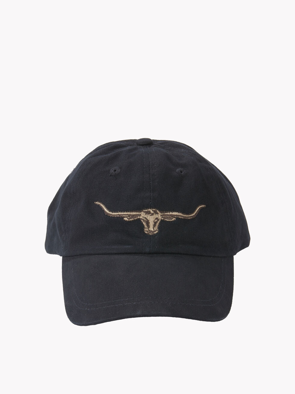 RM Williams Steer Head Logo Cap An R.M. Williams classic available at My Harley and Rose