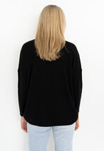 Load image into Gallery viewer, Luna Top Casual drop shoulder jumper by Humidity is available at My Harley and Rose