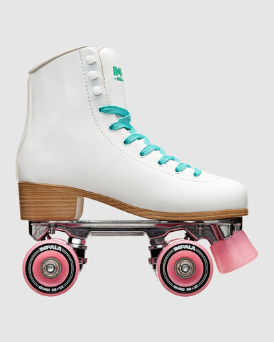 Impala Roller Skates White available at My Harley and Rose