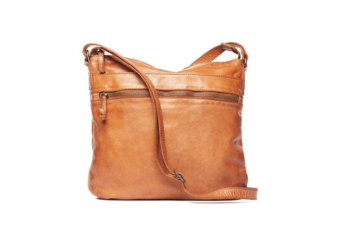 Venice Ladies leather sling bag by Oran Leather is available at My Harley and Rose