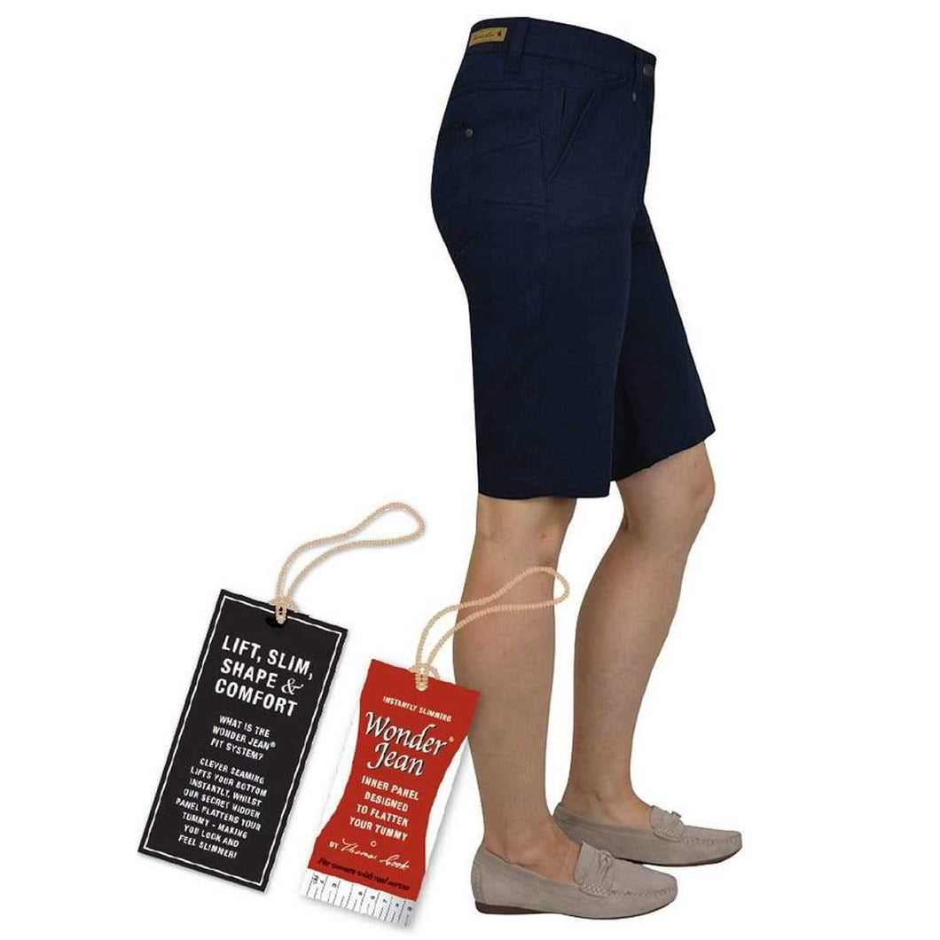 Thomas Cook Ipswich Wonder Jean Short available at My Harley and Rose