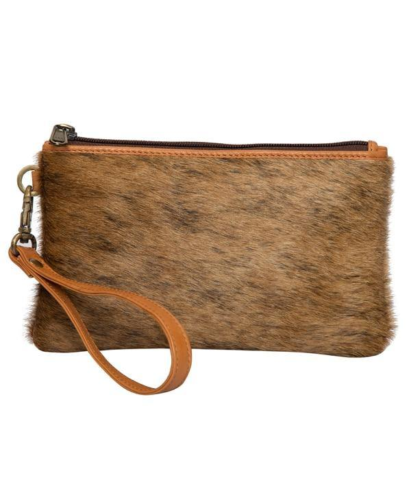 Toronto Small Cowhide Clutch by The Design Edge available at My Harley and Rose