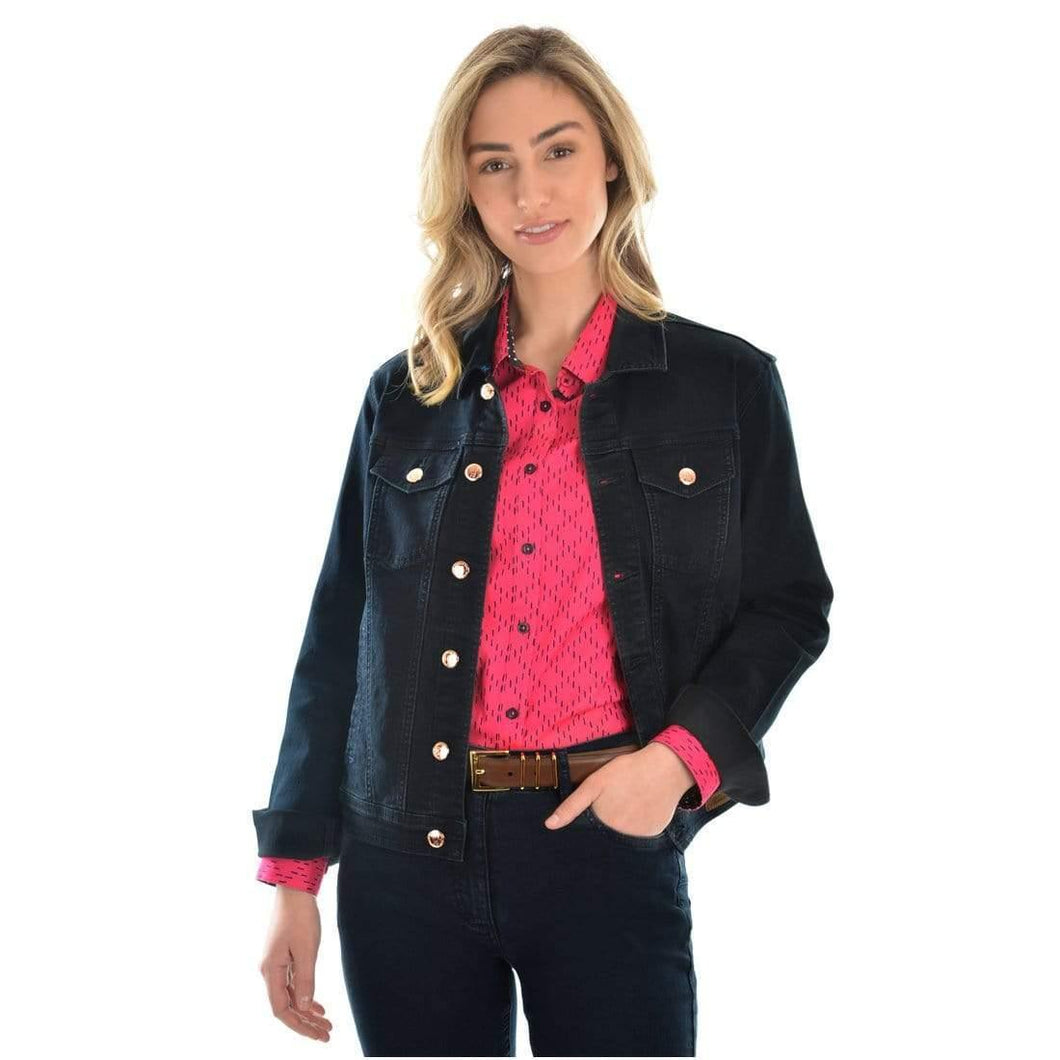 Thomas Cook Womens Angel Denim Jacket available at My Harley and Rose