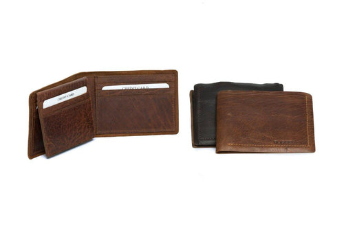 Dan Mens Wallet by Rugged Hide available at My Harley and Rose