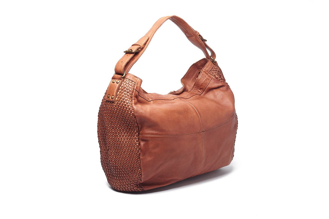 Myla Large hobo bag by Oran Leather is available from My Harley and Rose