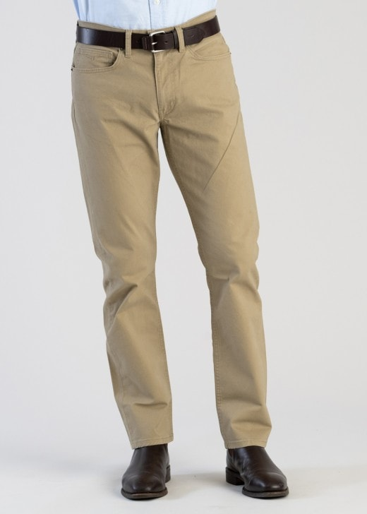 RM Williams Ramco Jeans Khaki, from Harley & Rose