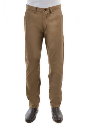 Thomas Cook Tailored Fit Mossman Comfort Waist Trouser Camel, from Harley & Rose