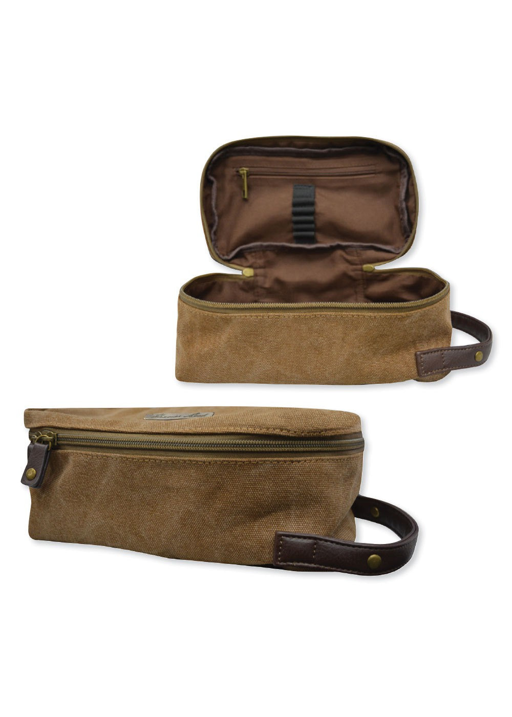 Wash Bag By Thomas Cook Features: Heavy duty canvas, double zip closure, internal zip pocket & open pockets elasticated utility holders TC metal badgeFabric: 70% Cotton 30% Polyester Vintage Wash 16ozLining: TC Poly 23x10x13cm TCP1925097, Available at My Harley and Rose