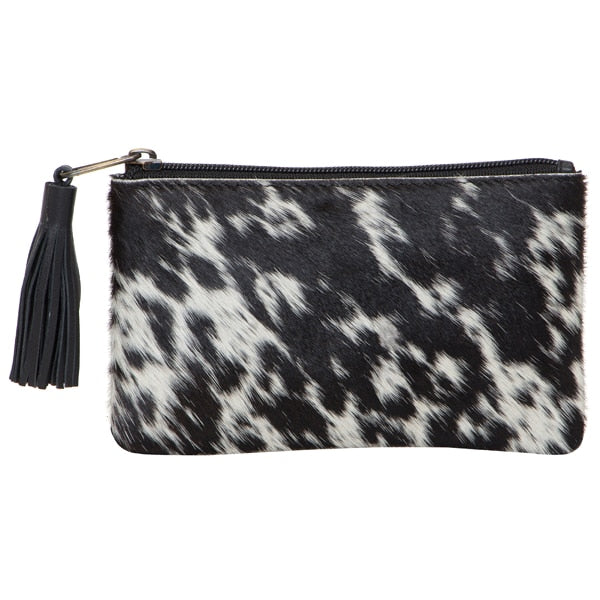 Small Tassel Cowhide Purse. Available at My Harley and Rose.