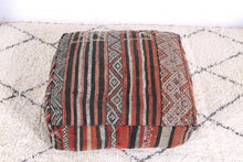 Load image into Gallery viewer, Handmade and HandWoven Moroccan Kilim Pouf