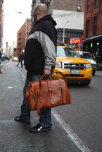Load image into Gallery viewer, Leather Duffle Bag & Purse