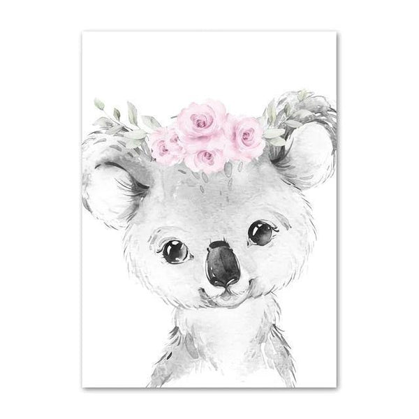 Canvas Poster - Baby Coala - Naya North