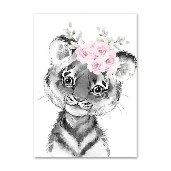 Canvas Poster - Baby Tiger - Naya North
