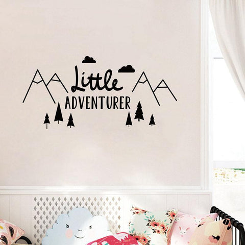 Little Adventurer Wall Sticker - Naya North