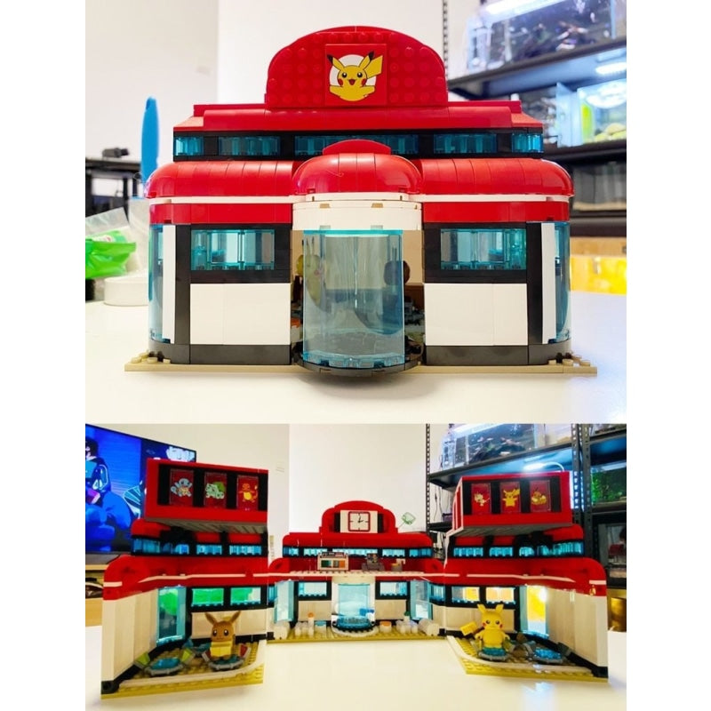 Lego Pokémon center