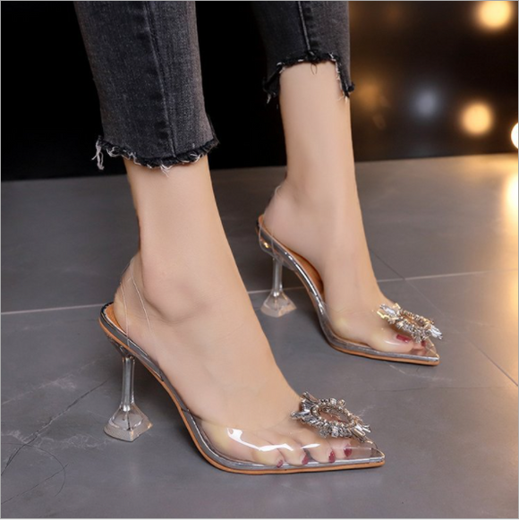 Luxury Women PumpsTransparent High Heels