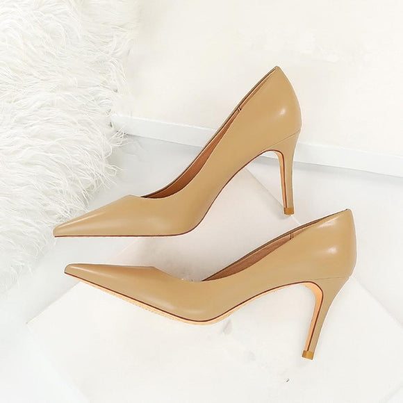 New Shiny Stiletto Heels Pointed Toe Bridal Party Shoes