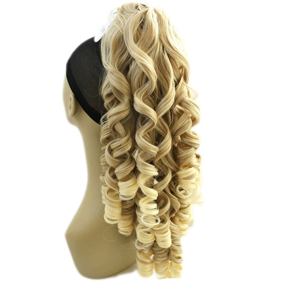 180g Fashion Natural Long Wigs Curly Hair
