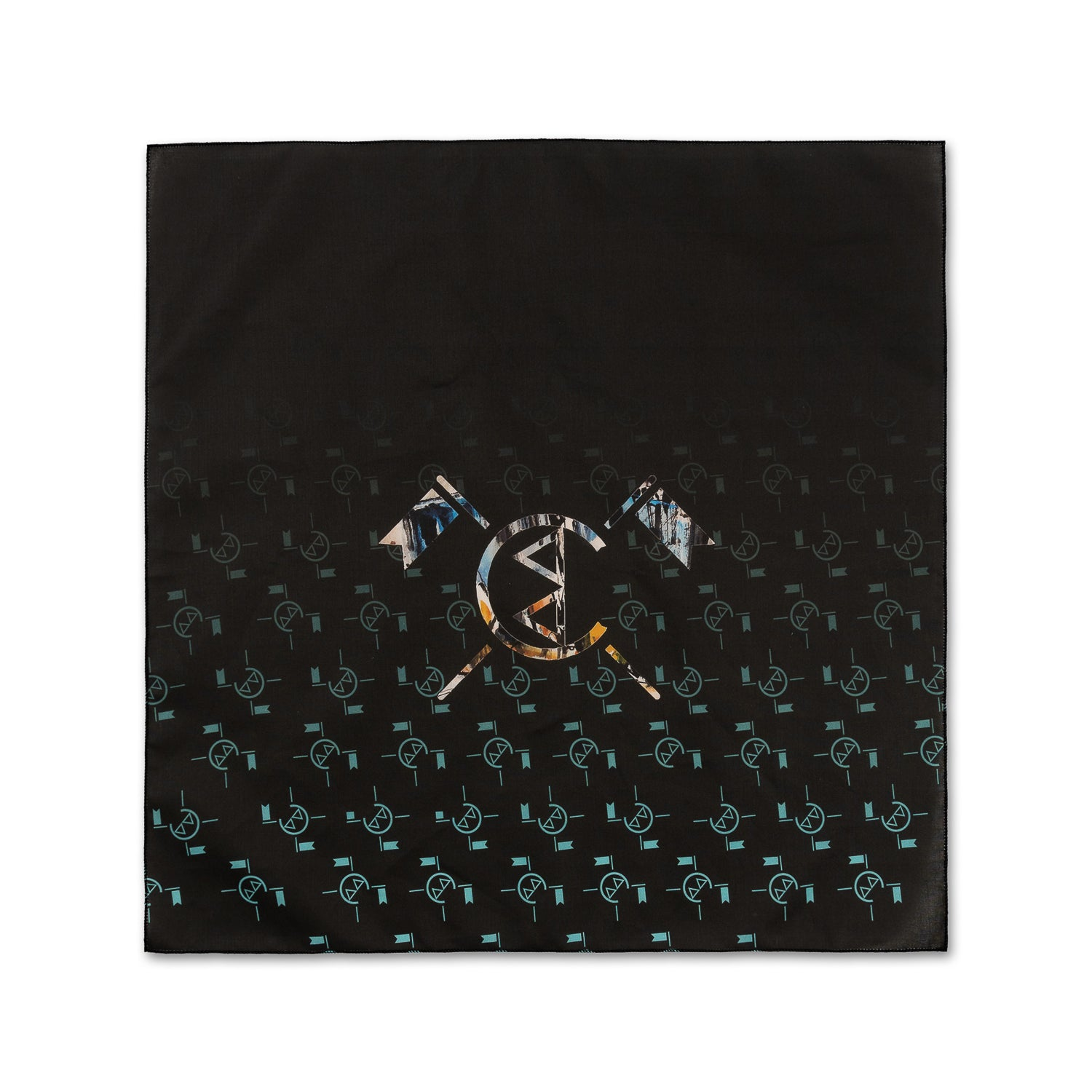 CHAMPELLI BANDANA IN BLACK