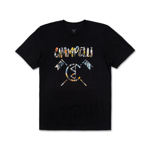 CHAMPELLI TEE IN BLACK