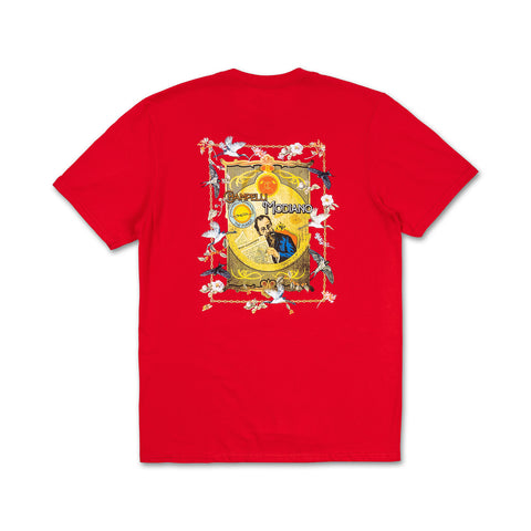MODIANO TEE IN RED