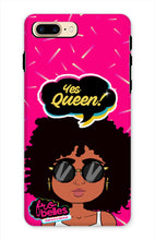 Load image into Gallery viewer, Kelli 'Yes Queen!' - Pink Phone Case