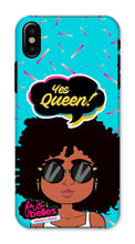 Load image into Gallery viewer, Kelli 'Yes Queen!'  - Blue Phone Case