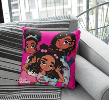 Load image into Gallery viewer, Frobelles Trio Colour Pop - Pink Cushion