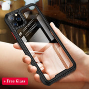 Armor Designed HD Transparent Phone Cases for iPhone 11 Pro Max