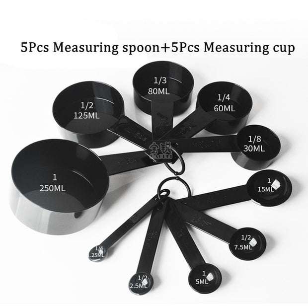 Measuring Cups and Spoons Set for Home Kitchen