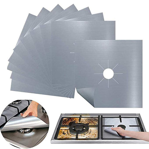 4 SET REUSABLE NON-STICK FOIL COVER SHEETING