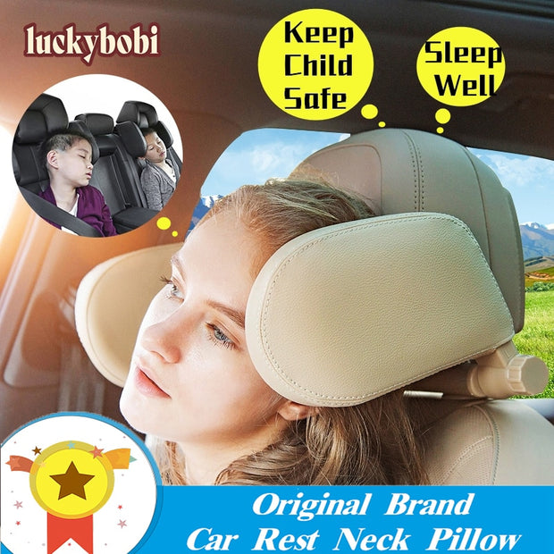 Car Seat Rest Neck Pillow Support Solution For Kids Pillow And Adults