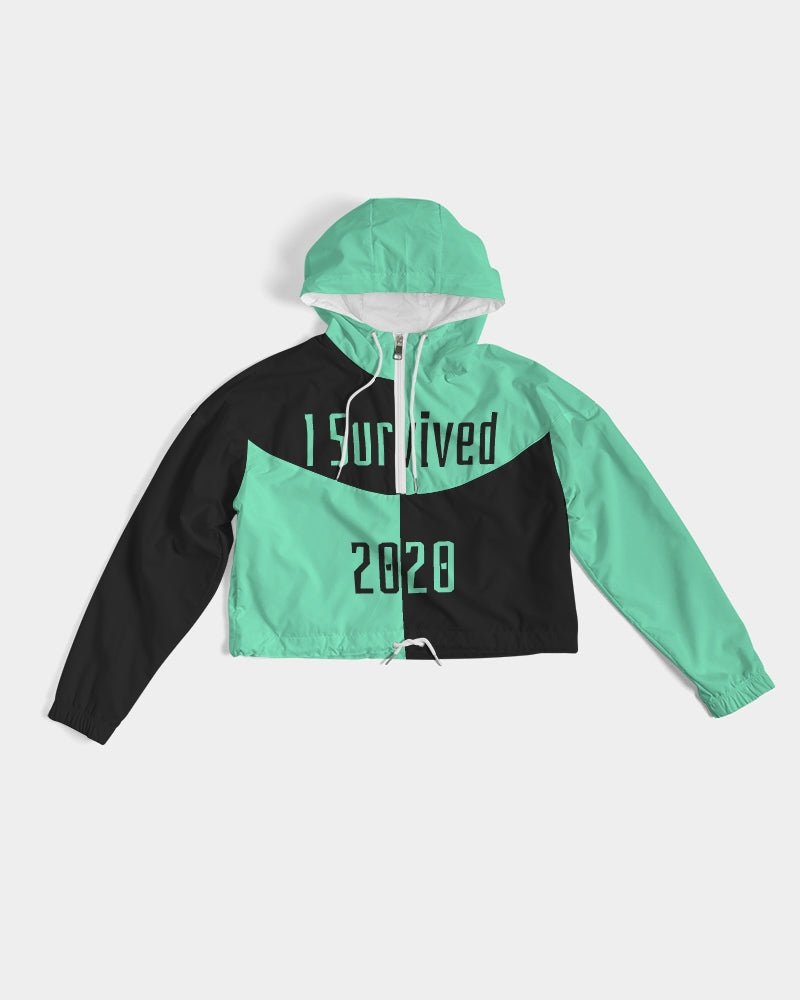 Bounce Back Collection Women's Cropped Windbreaker
