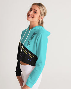 Fide For Her Women's Cropped Hoodie