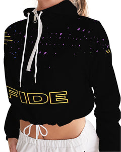 Fide For Her Women's Cropped Windbreaker