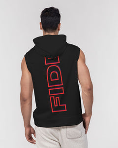 Bounce Back Collection Men's Premium Heavyweight Sleeveless Hoodie