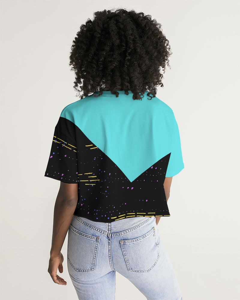 Fide For Her Women's Lounge Cropped Tee