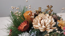 Load image into Gallery viewer, Gold Mum Arrangement