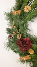 "Load image into Gallery viewer, 24"" White Branch Wreath"